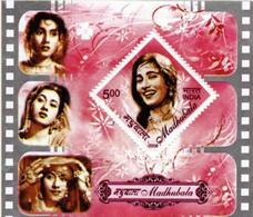 5X INDIA 2008 Madhubala; Miniature Sheet, MINT - India