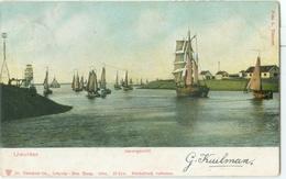 IJmuiden 1906; Havengezicht - Gelopen. (Dr. Trenkler Co. - Leipzig) - IJmuiden
