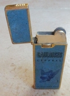 BRIQUET Cigarettes GAULOISES Caporal ( Lighter Feuerzeug Accendino  Encendedor ) - Briquets