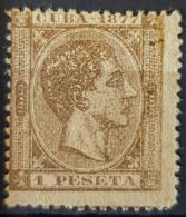 CUBA - MLH - Sc# 75 - 1P - Cuba (1874-1898)