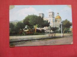 Puerto Rico  Cathedral De Guayama  Scotch Tape Corners  Ref    3578 - Puerto Rico
