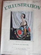 Illustration 4601 1931 Salon Peinture Légion Sidi Bel Abbés  Président III République Brouage Solliès Ville Concarneau - L'Illustration