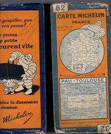 Carte Géographique MICHELIN - N° 082 - PAU - TOULOUSE - N° 2918-48 - Cartes Routières