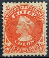 CHILE - MLH - Sc# 17 - 5c - Chile