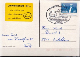 Germany Card With Special Cancel - Unclassified