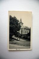 Rosoux   Berloz          CARTE PHOTO De L'église  1946 - Berloz