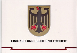 Germany Card With Reunification Set And SS - [7] Federal Republic