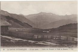 D73 - COL DES SAISIES - CHÂLETS DES FRUMIERS ET VALLEE DE BEAUFORT - LA SAVOIE PITTORESQUE - France