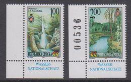 Europa Cept 2001 Bosnia/Herzegovina Serbia 2v (corner,1 Val. With Number) ** Mnh (44409) - 2001