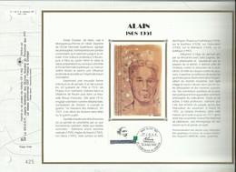 N°: 1122 S  DU CATALOGUE CEF  . 944 / SOIE . ALAIN . 24 AVRIL 1993 . MORTAGNE AU PERCHE . - FDC