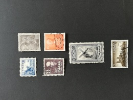 SPAIN SELECTION 6 STAMPS MH And Used Catologue Value 195 Euros - 1931-Heute: 2. Rep. - ... Juan Carlos I