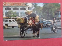Vietnam Horse Drawn Carriage  Military Free Cancel  Ref    3578 - Vietnam