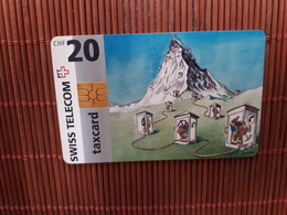 Phonecard Zwitserland CHF 20 Used 09/1996 - Switzerland