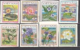 Vietnam 1980 - Water Flowers - Imperforated, Canceled - Vietnam