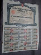 Soc. Minière Et Financière De MADAGASCAR : Part De Fondateur Au Porteur : N° 005,847 ( Voir Photo ) - Mines