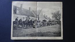 France-Kaiserlich Deutsche Feldpost Der 18.I.Di. Beim Ausmarsch Aus St.Paul-aux-Bois-großfomatiger Feldpostbrief-um 1920 - Autres