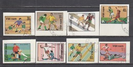 Vietnam 1982 - Football - Imperforated, Canceled - Vietnam