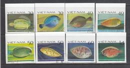 Vietnam 1982 - Fish Halibut - Imperforated, Canceled - Vietnam