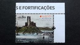 Portugal 4258 **/mnh, EUROPA/CEPT 2017, Burgen Und Schlösser, Castelo De Almourol; Stich Von Isidoro Salcedo Y Echevarrí - Ungebraucht