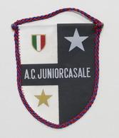 Sport Calcio - Gagliardetto A.C. Junior Casale - Anni '70 - Abbigliamento, Souvenirs & Varie
