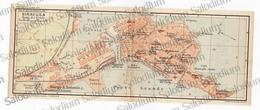 1910 - SIRACUSA  - SICILIA  - Mappa Cartina - Mappe