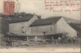 CPA Sault Brenaz Ain 01 Vue De Chante-Merle Chante Merle Edit C.V. Coque Bateau YT 129 CAD 7 MARS 1905 - Autres Communes