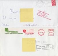 """LOT De 12 """"code Postal Erroné"""" - Marcophilie (Lettres)"""