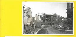 ARLES Bombardé 1944 Carte Photo Rond Point Des Arènes (George) Bouches Du Rhône (13) - Arles