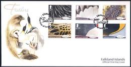 Falkland Islands (2019) Bird Feathers - FDC > See Description - Andere