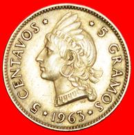 + GREAT BRITAIN: DOMINICAN REPUBLIC ★ 5 CENTAVOS 1863-1963! LOW START ★ NO RESERVE! - Dominicana