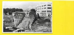 """ARLES Bombardé 1944 Carte Photo Le Pont Au 2° Plan """"Au Lion D'Arles"""" (George) Bouches Du Rhône (13) - Arles"""