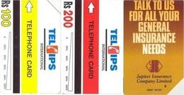 Pakistan Urmet Phone Card, 2-Cards (Rs.100 & 200) - Pakistan
