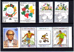 Bangladesh 1985-94, Année De La Jeunesse, Coupe Du Monde Aux USA, Entre 231 C Et 453**, Cote 11 € - Bangladesh