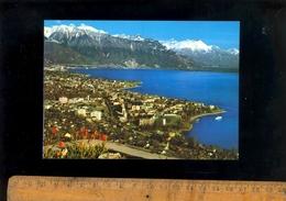 VEVEY Et La TOUR DE PEILZ  Lac Léman Et Alpes Vaudoises - VD Vaud