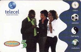 Zambia, Mango 5, Telecel, Used - Zambie