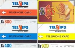 Pakistan Urmet Phone Card, 3-Cards (Rs.100, 400 & 800) - Pakistan