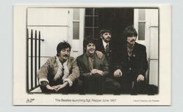 THE BEATLES LAUNCHING SGT PEPPER JUNE 1967 - Chanteurs & Musiciens