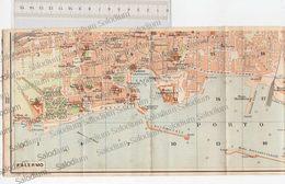 PALERMO - SICILIA  - Mappa Cartina - Mappe