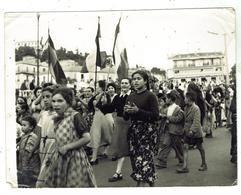 PHILIPPEVILLE / SKIKDA - Place De La Marine- Manifestation En 1958 - Photo Originale Format - Skikda (Philippeville)