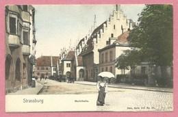 67 - STRASSBURG - STRASBOURG - Nels Couleur Série 300 N° 90 - Markthalle - Strasbourg