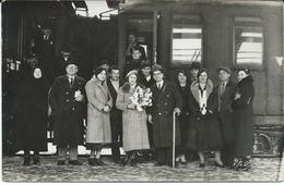 OLD Photo Postcard - Train 1935 Belgrade - Trains