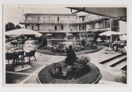 AJ05 Grand Hotel Gooiland, Hilversum, Daktuin - RPPC, Local Publisher - Hilversum