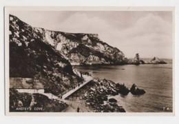 AJ05 Anstey's Cove - RPPC - Torquay