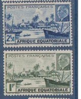 A E F             N°  YVERT  :   90/91      NEUF AVEC  CHARNIERES      ( 02/30   ) - Unused Stamps