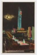 AJ05 South Cascade And Tower, Empire Exhibition, Scotland 1938, Night View - Esposizioni