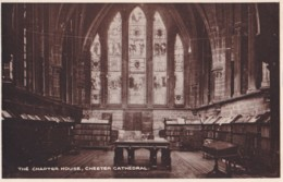 AM49 The Chapter House, Chester Cathedral - Local Publisher - Chester