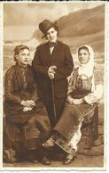 OLD Photo Postcard - Girls Belgrade - Anonymous Persons