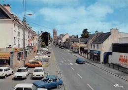 LOUDEAC - Rue De Pontivy - Automobiles - Renault 4l - Magasin La Guimbarde - Loudéac