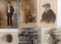 PHOTOGRAPHIE.....HOMME...HOMMES......LOT DE 25 CPA/PHOTO OU PHOTOS......VOIR SCAN.....LOT 43 - Photographs