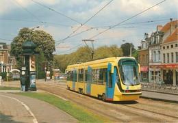 Bruxelles STIB Tram Tramway Automotrice 2005 Ligne 94 Barré Palce Louise & Wiener En Mai 1994 PUB STELLA ARTOIS Au Poilu - Transport Urbain En Surface